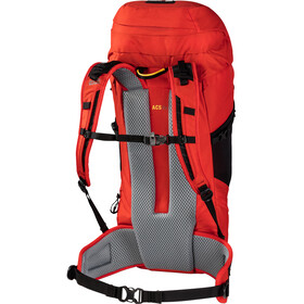Jack Wolfskin Kalari Trail 36 Recco Rugzak, lava red